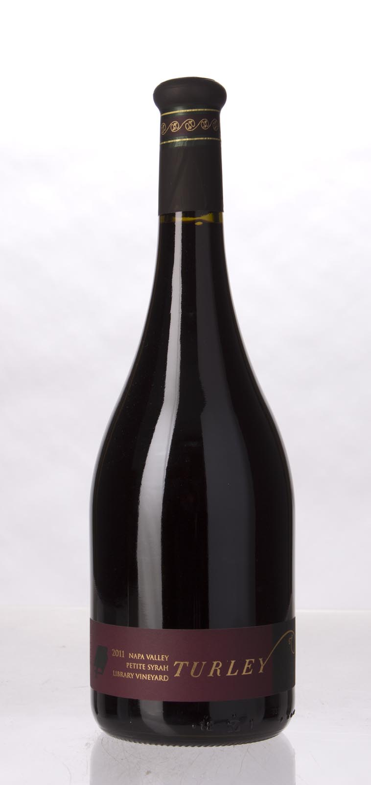 Turley Wine Cellars Petite Sirah Library Vineyard 2011, 750mL (WA94-96, ST93) from The BPW - Merchants of rare and fine wines.