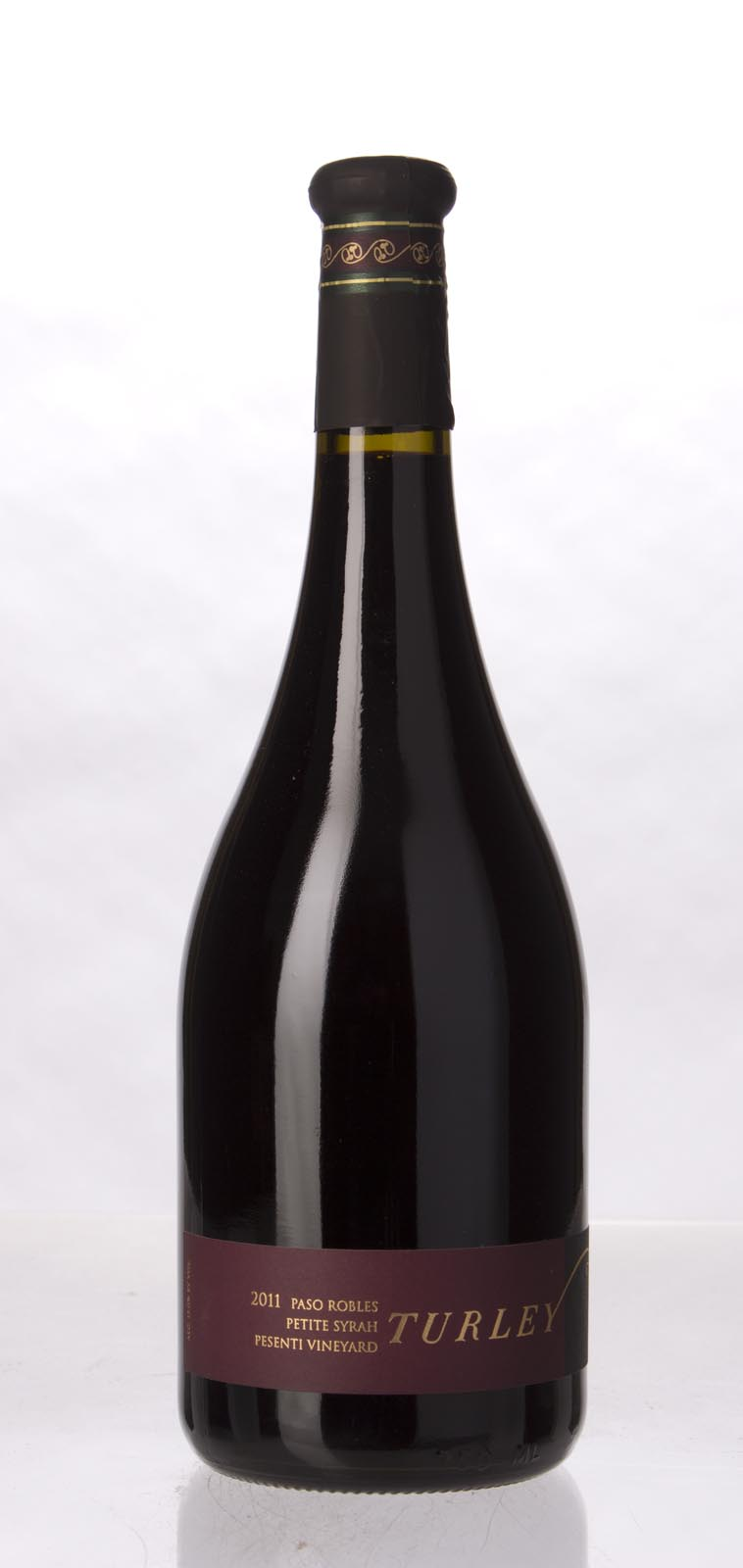Turley Wine Cellars Petite Sirah Pesenti 2011, 750mL (WA94-96, ST94) from The BPW - Merchants of rare and fine wines.