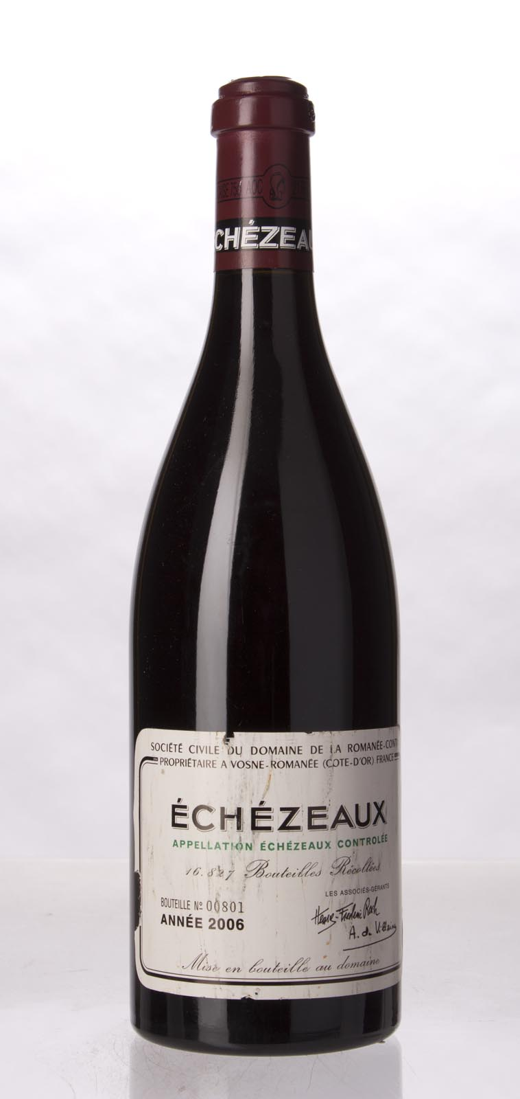 Domaine de La Romanee Conti Echezeaux 2006, 750mL (BH92, ST92) from The BPW - Merchants of rare and fine wines.