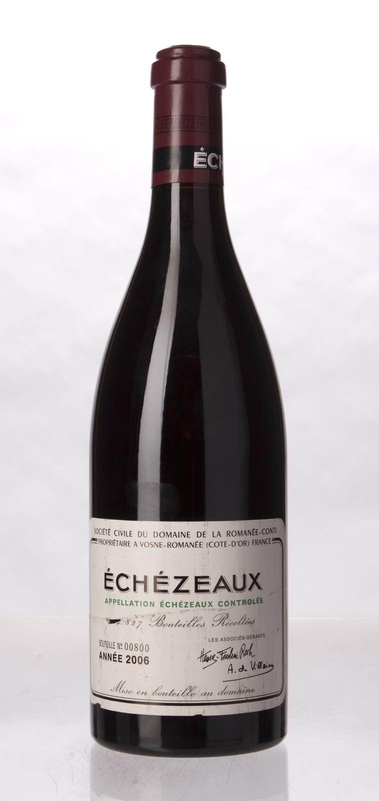 Domaine de La Romanee Conti Echezeaux 2006,  (BH92, ST92) from The BPW - Merchants of rare and fine wines.