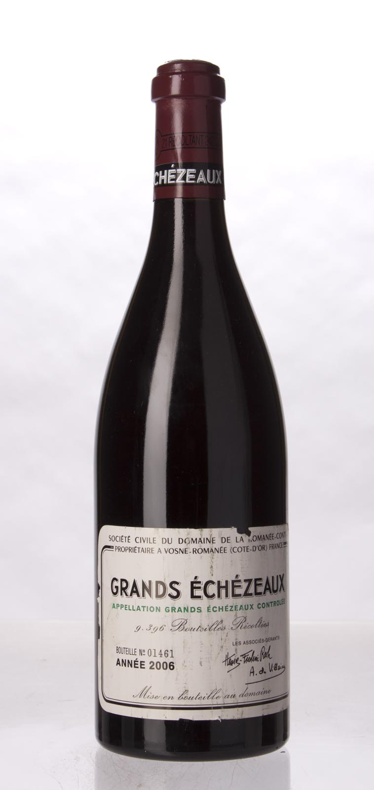 Domaine de La Romanee Conti Grands Echezeaux 2006, 750mL (BH94, ST92+) from The BPW - Merchants of rare and fine wines.