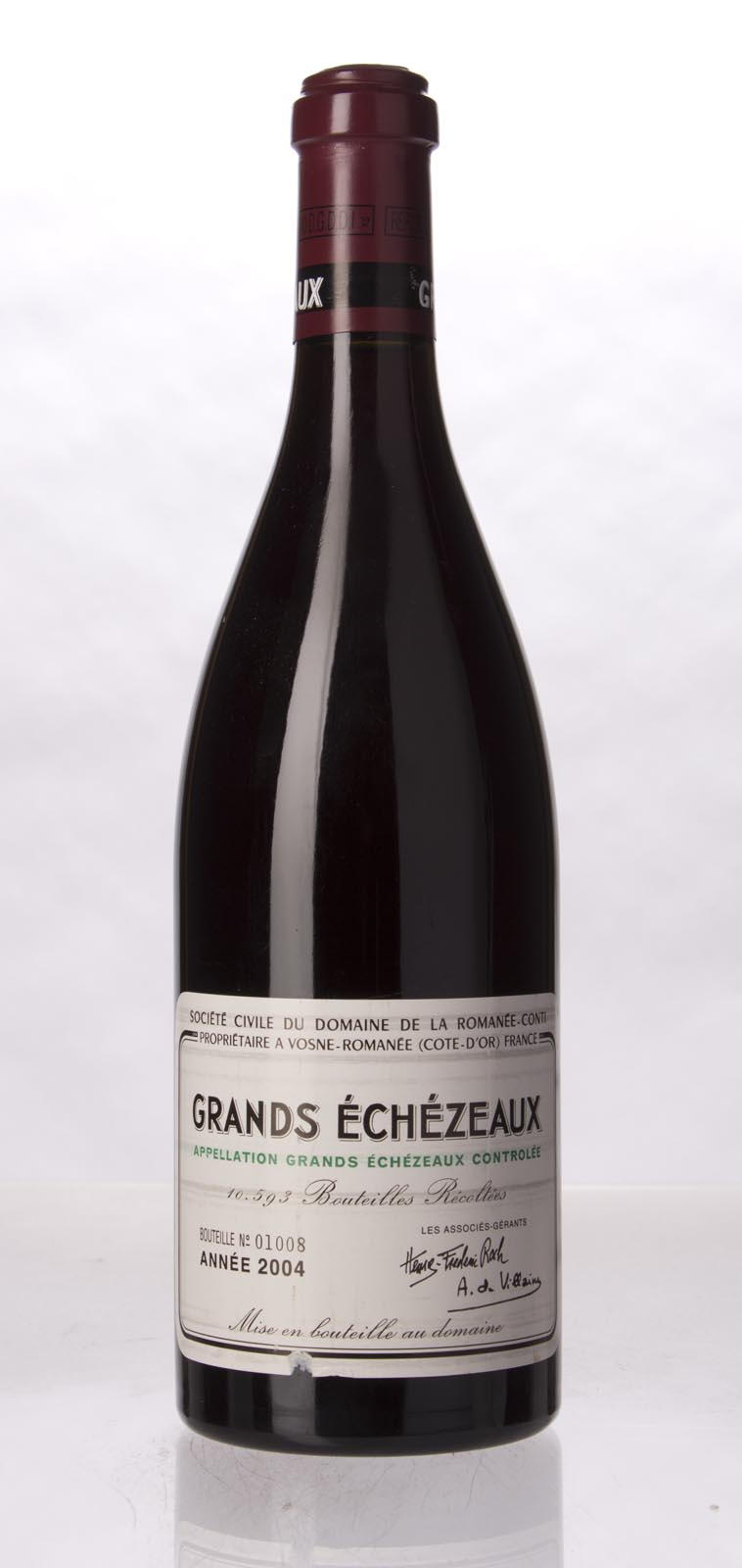 Domaine de La Romanee Conti Grands Echezeaux 2004, 750mL (ST91+, BH91) from The BPW - Merchants of rare and fine wines.