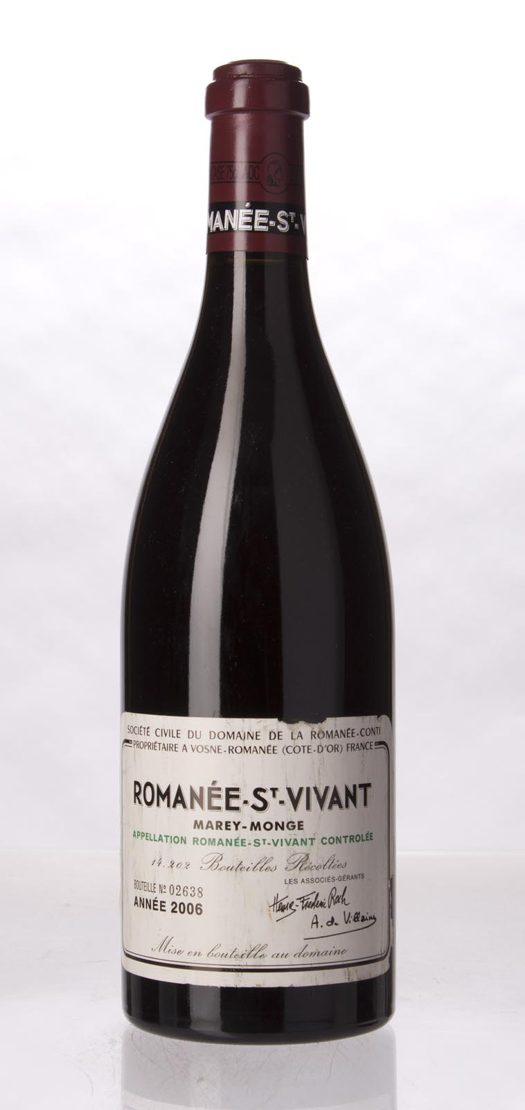 Domaine de La Romanee Conti Romanee St. Vivant 2006, 750mL (BH93, ST93+) from The BPW - Merchants of rare and fine wines.