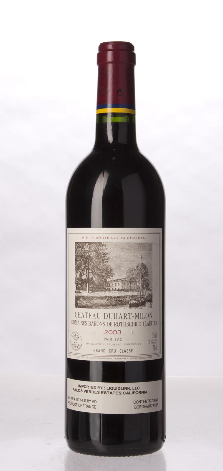 Duhart Milon Rothschild 2003, 750mL (WA92, WS92) from The BPW - Merchants of rare and fine wines.