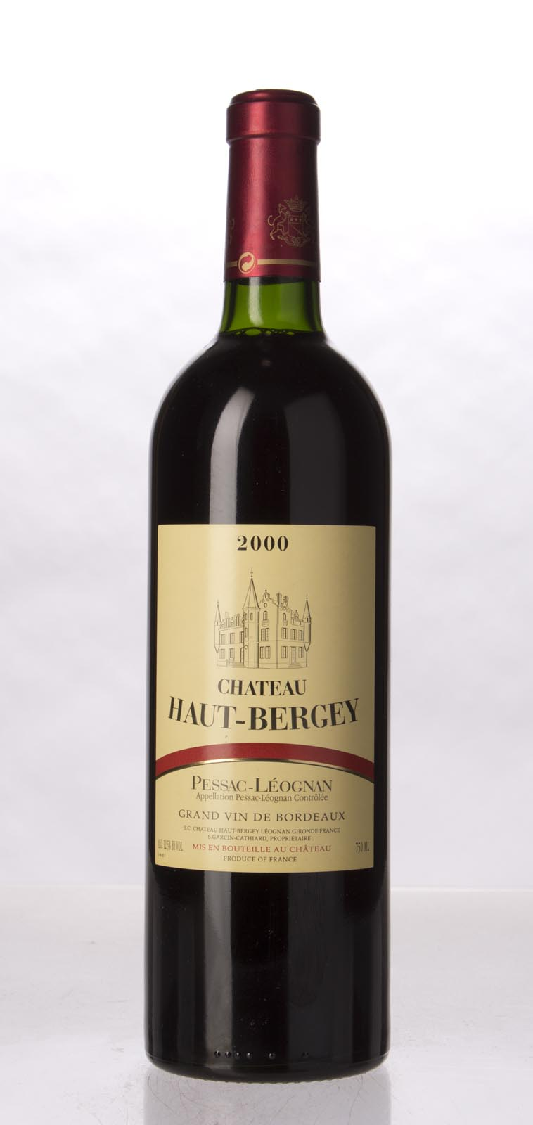 Haut Bergey 2000, 750mL (WA94) from The BPW - Merchants of rare and fine wines.