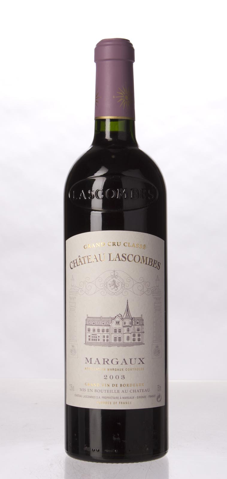 Lascombes 2003, 750mL (WA92, ST91, WS91) from The BPW - Merchants of rare and fine wines.