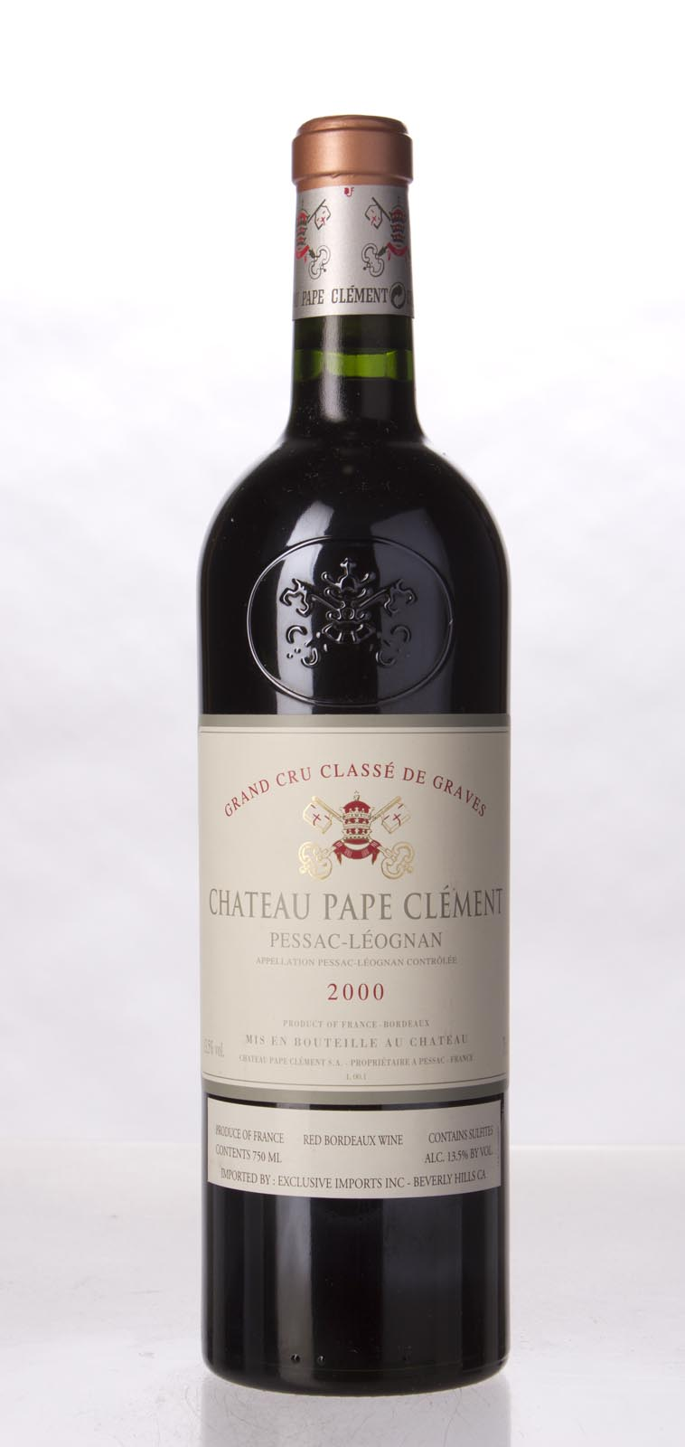 Pape Clement 2000, 750mL (WA96) from The BPW - Merchants of rare and fine wines.