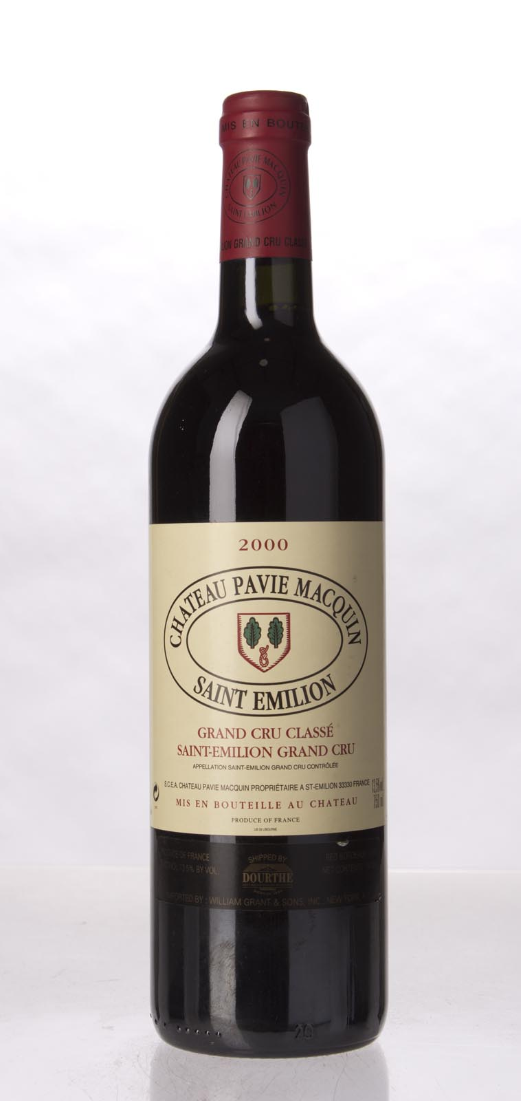 Pavie Macquin 2000, 750mL (WA95+) from The BPW - Merchants of rare and fine wines.