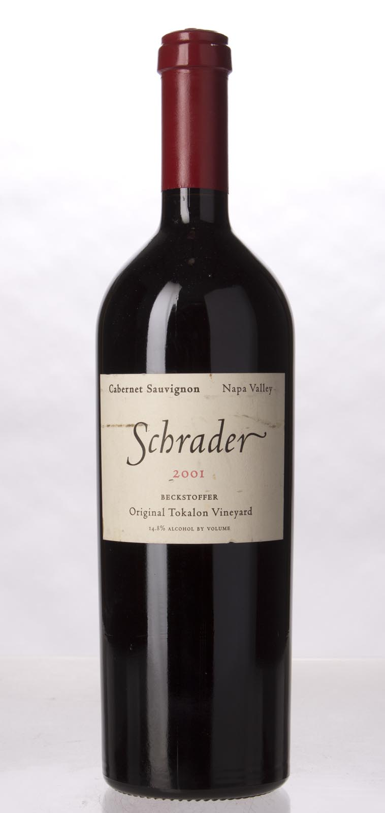 Schrader Cellars Cabernet Sauvignon Beckstoffer To Kalon Vineyard 2001, 750mL (WA99) from The BPW - Merchants of rare and fine wines.