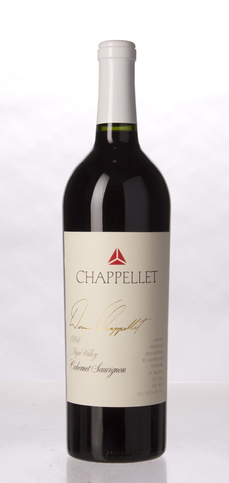 Chappellet Cabernet Sauvignon 1994,  () from The BPW - Merchants of rare and fine wines.