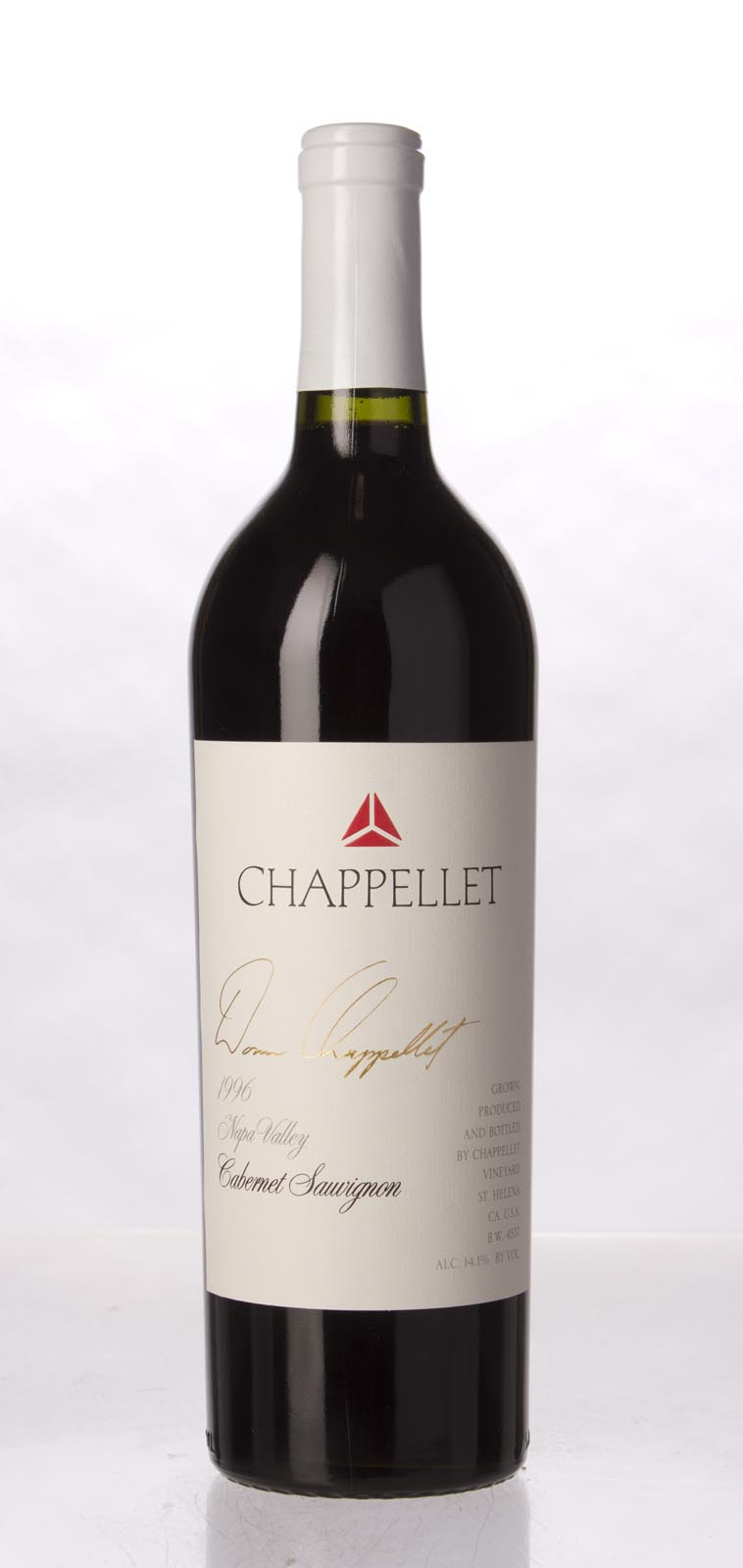 Chappellet Cabernet Sauvignon 1996,  () from The BPW - Merchants of rare and fine wines.