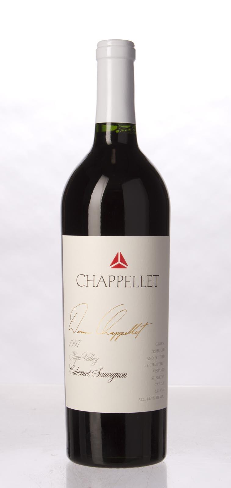 Chappellet Cabernet Sauvignon 1997,  () from The BPW - Merchants of rare and fine wines.