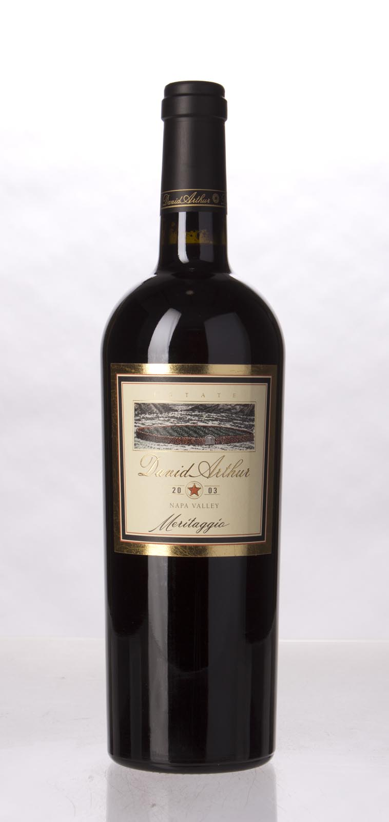 David Arthur Meritaggio 2003, 750mL () from The BPW - Merchants of rare and fine wines.