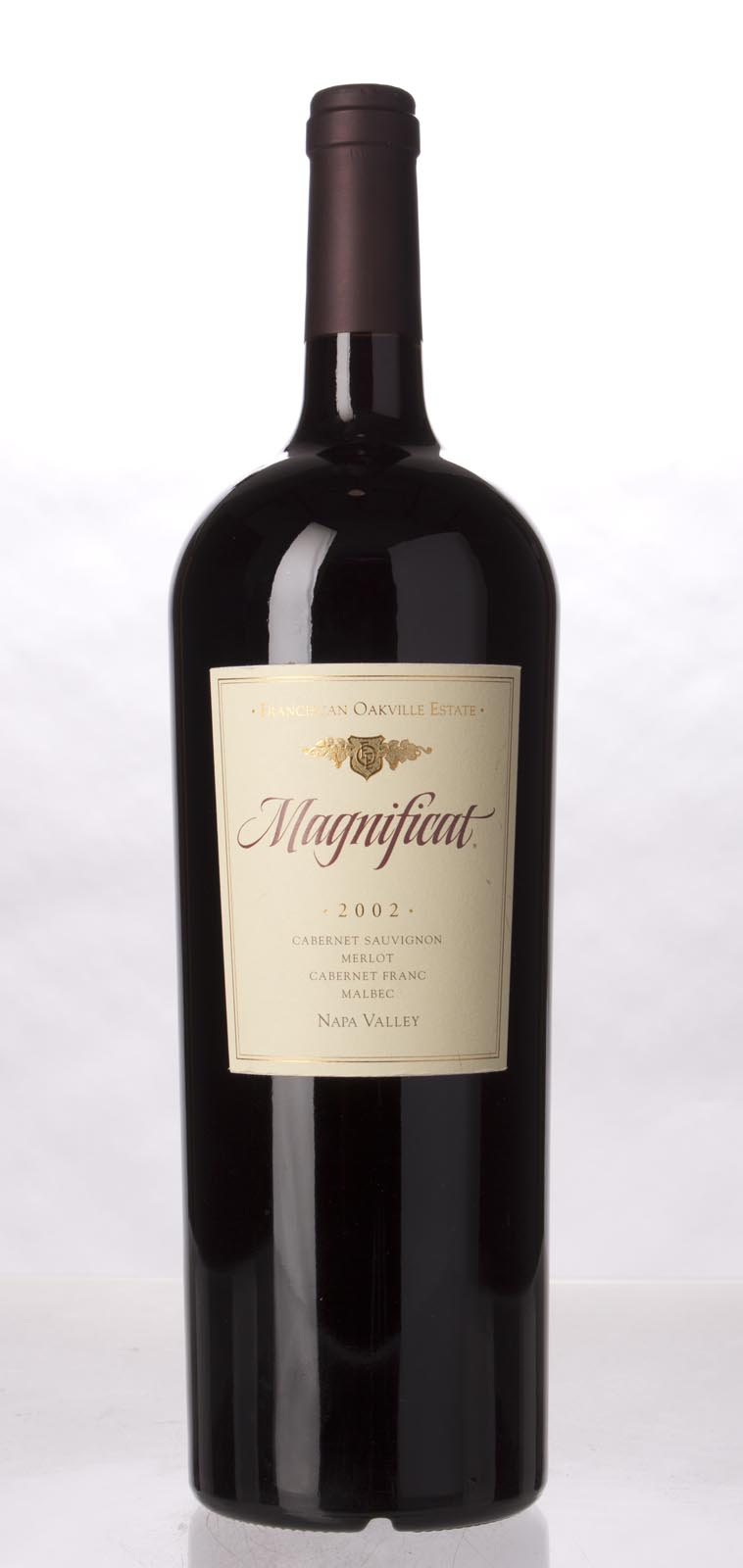 Franciscan Proprietary Red Magnificat 2002, 1.5L () from The BPW - Merchants of rare and fine wines.