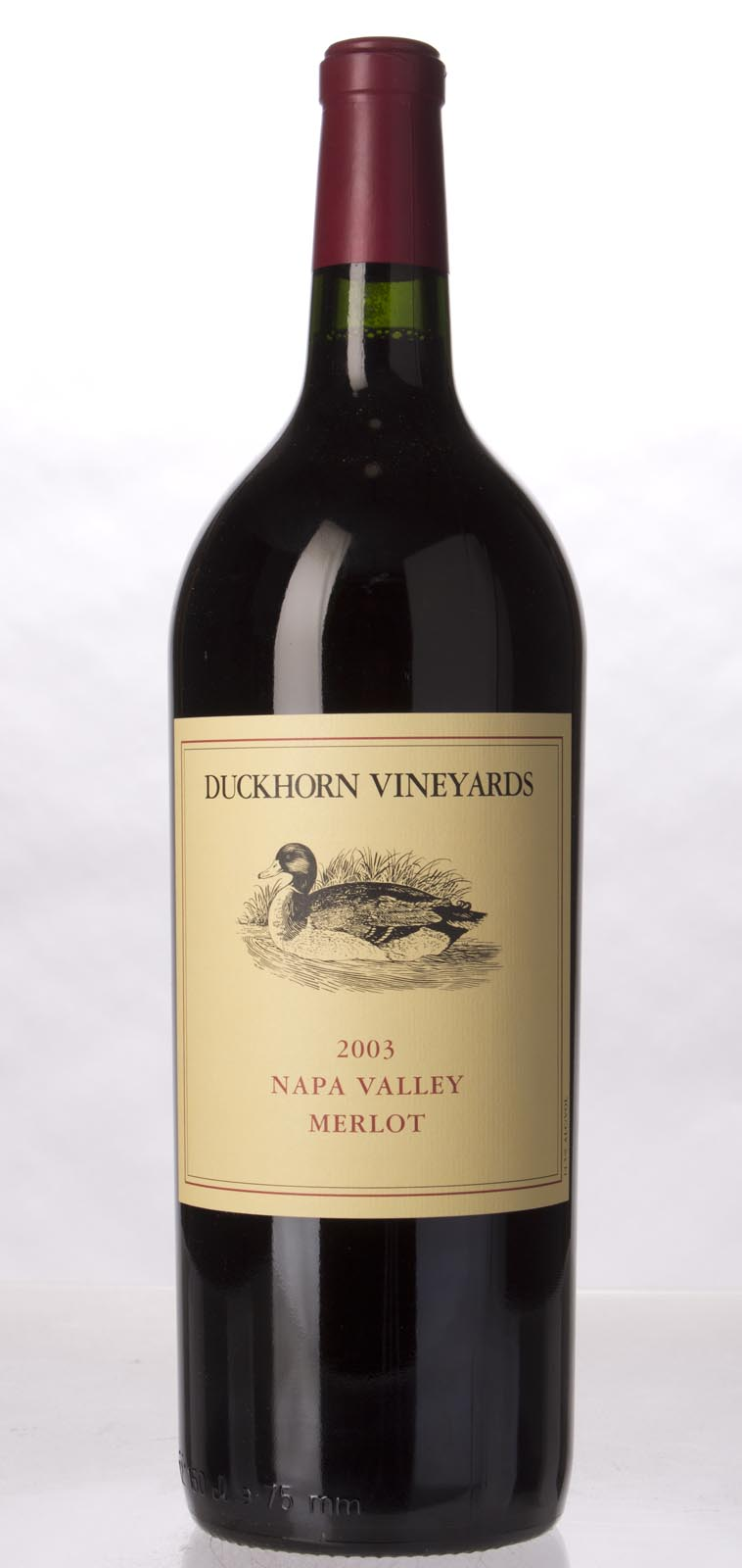 Duckhorn Merlot Napa Valley 2003, 1.5L () from The BPW - Merchants of rare and fine wines.