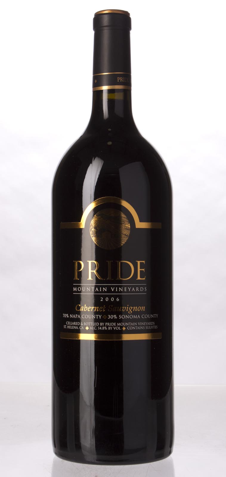 Pride Mountain Vineyards Cabernet Sauvignon 2006, 1.5L (WA90) from The BPW - Merchants of rare and fine wines.