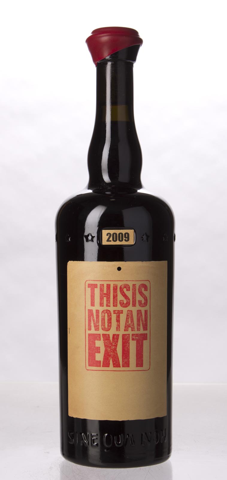 Sine Qua Non Syrah This Is Not an Exit Eleven Confessions Vineyard 2009, 750mL (WA97) from The BPW - Merchants of rare and fine wines.