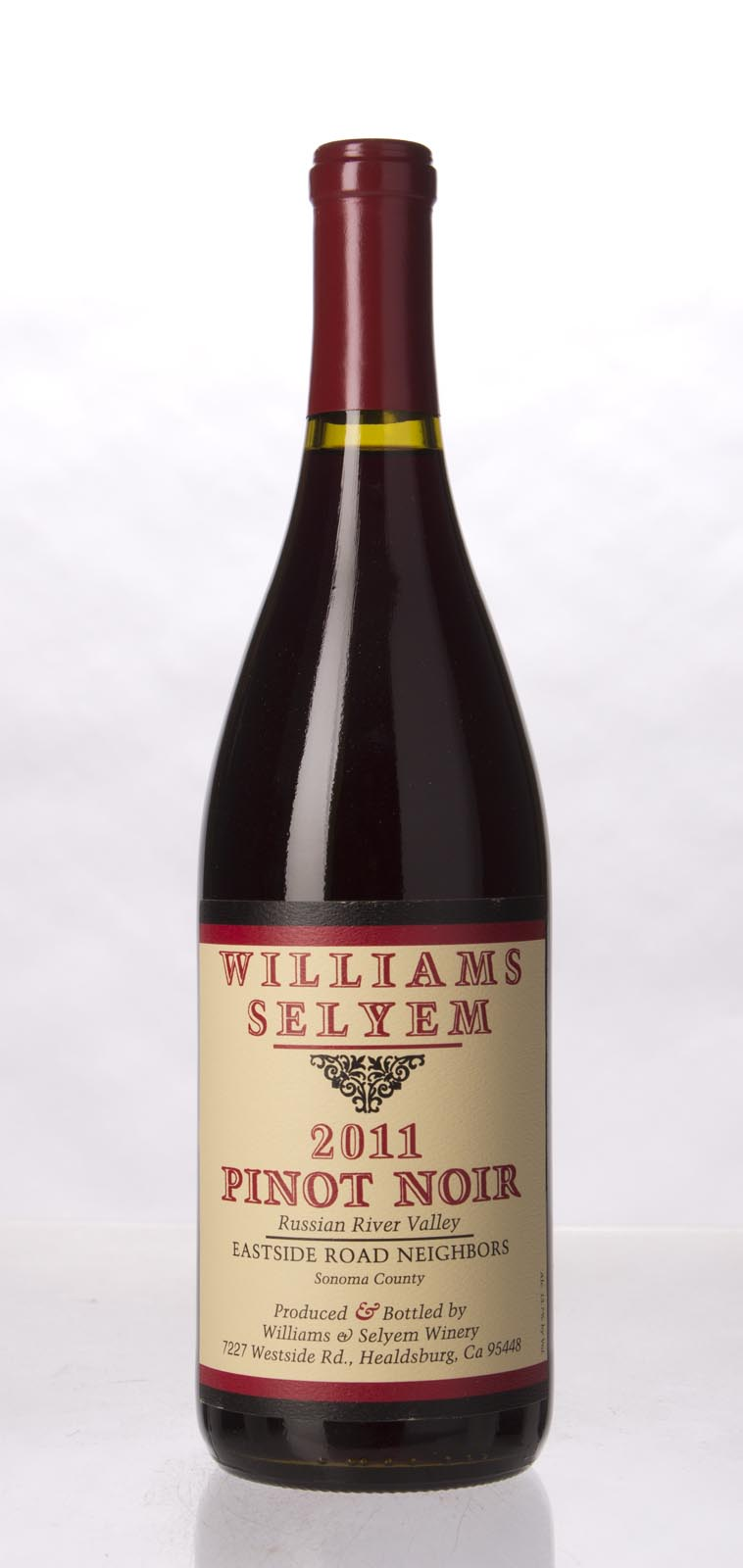 Williams Selyem Pinot Noir Eastside Road Neighbors 2011, 750mL (ST92) from The BPW - Merchants of rare and fine wines.