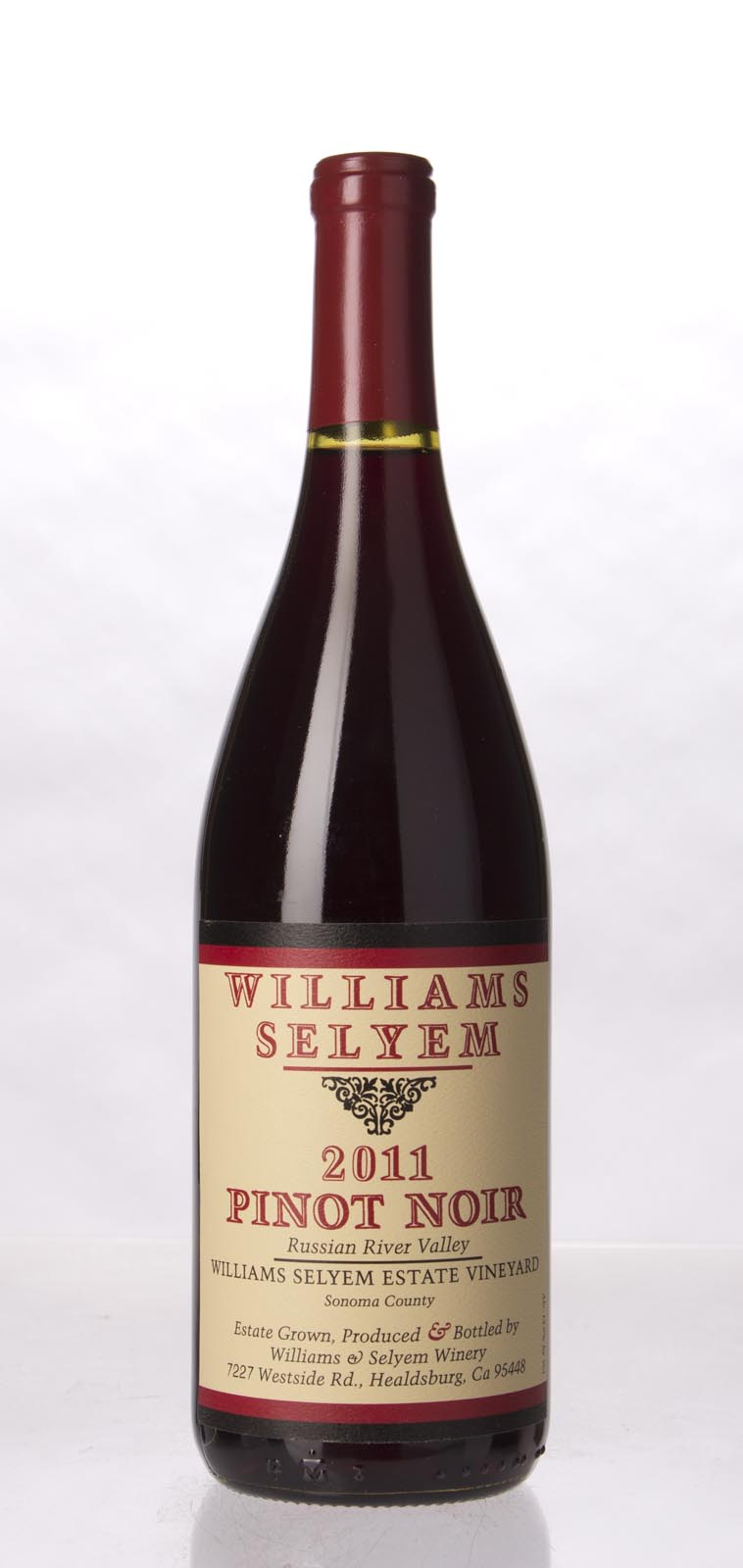 Williams Selyem Pinot Noir Estate Vineyard 2011, 750mL () from The BPW - Merchants of rare and fine wines.