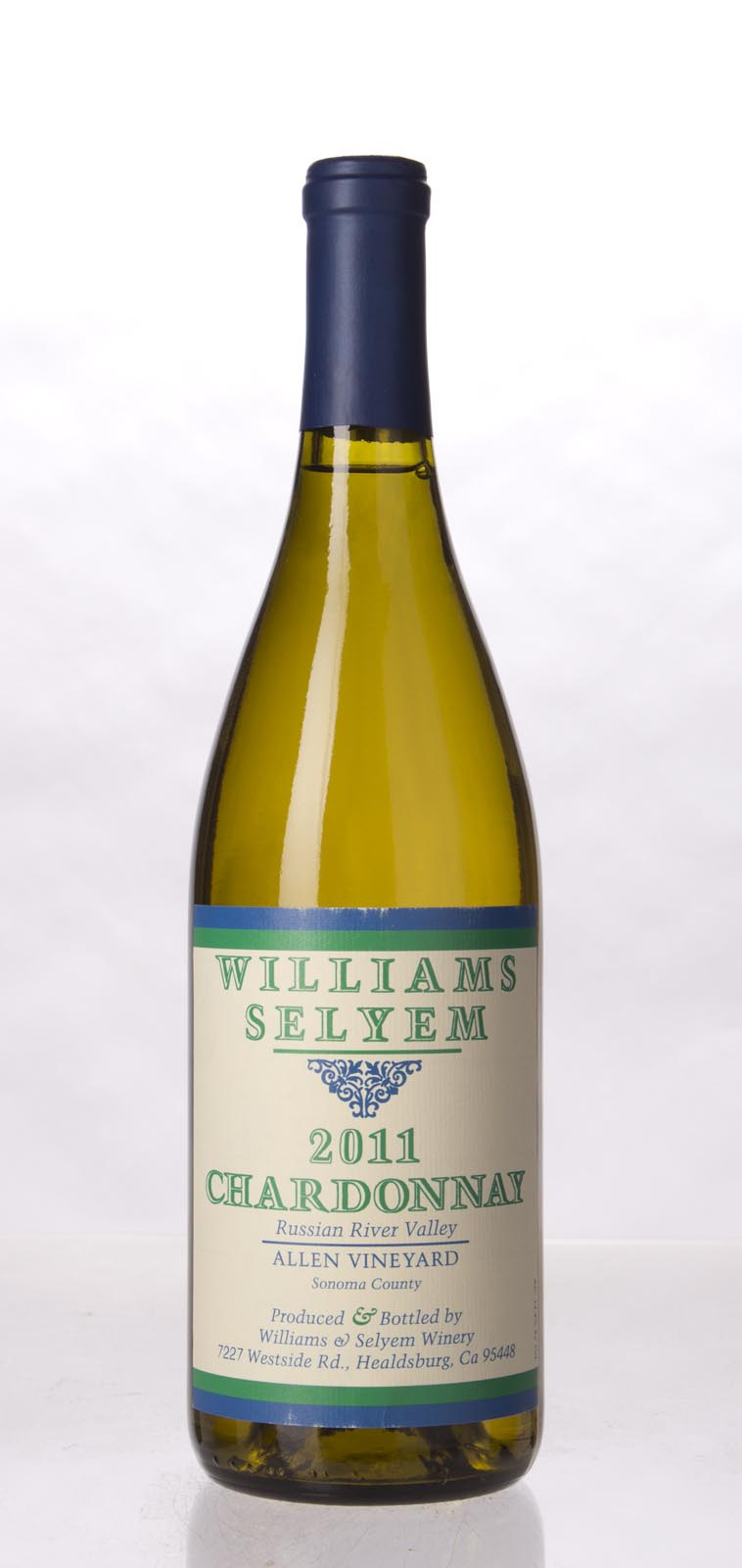 Williams Selyem Chardonnay Allen Vineyard 2011, 750mL (ST92) from The BPW - Merchants of rare and fine wines.