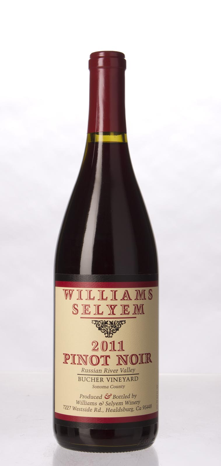Williams Selyem Pinot Noir Bucher Vineyard 2011, 750ml (ST91) from The BPW - Merchants of rare and fine wines.