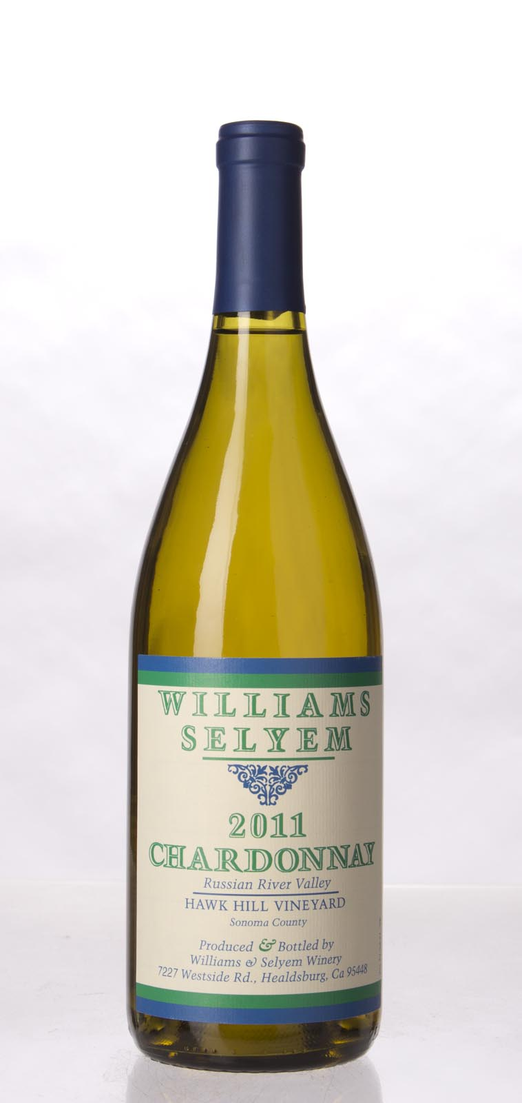 Williams Selyem Chardonnay Hawk Hill Vineyard 2011, 750mL (ST92) from The BPW - Merchants of rare and fine wines.