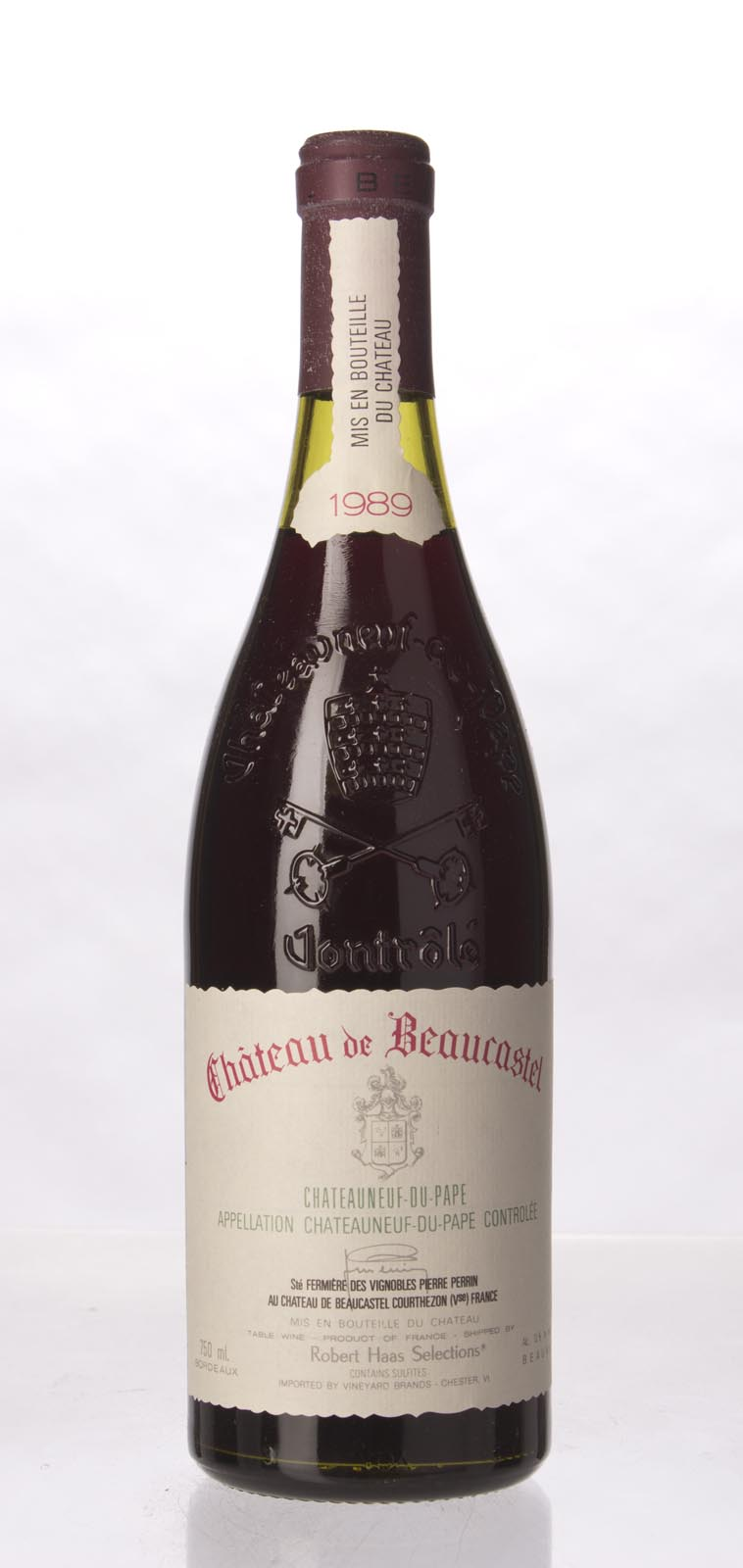 Chateau Beaucastel Chateauneuf du Pape 1989, 750mL (WA97, WS97) from The BPW - Merchants of rare and fine wines.