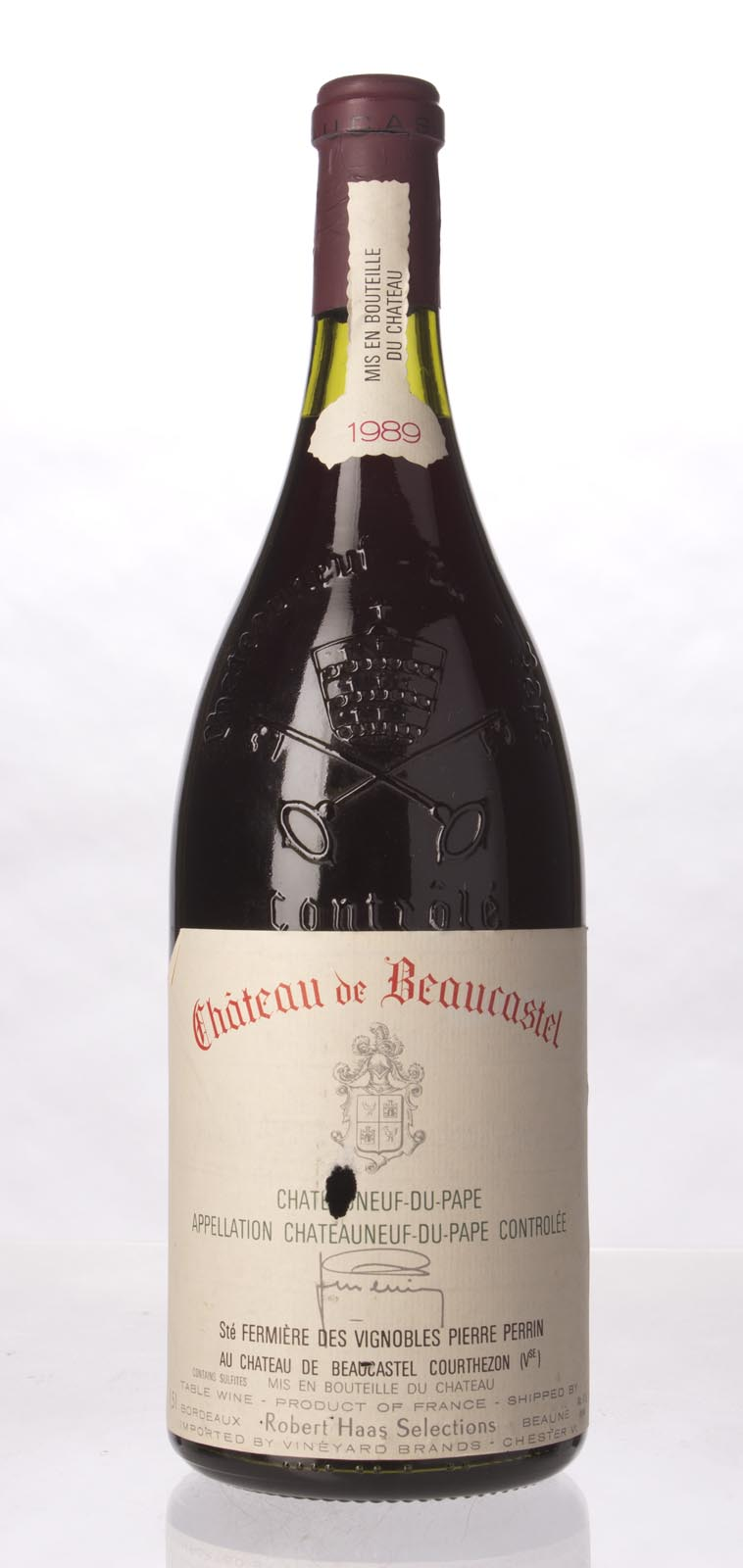 Chateau Beaucastel Chateauneuf du Pape 1989, 1.5L (WA97, WS97) from The BPW - Merchants of rare and fine wines.