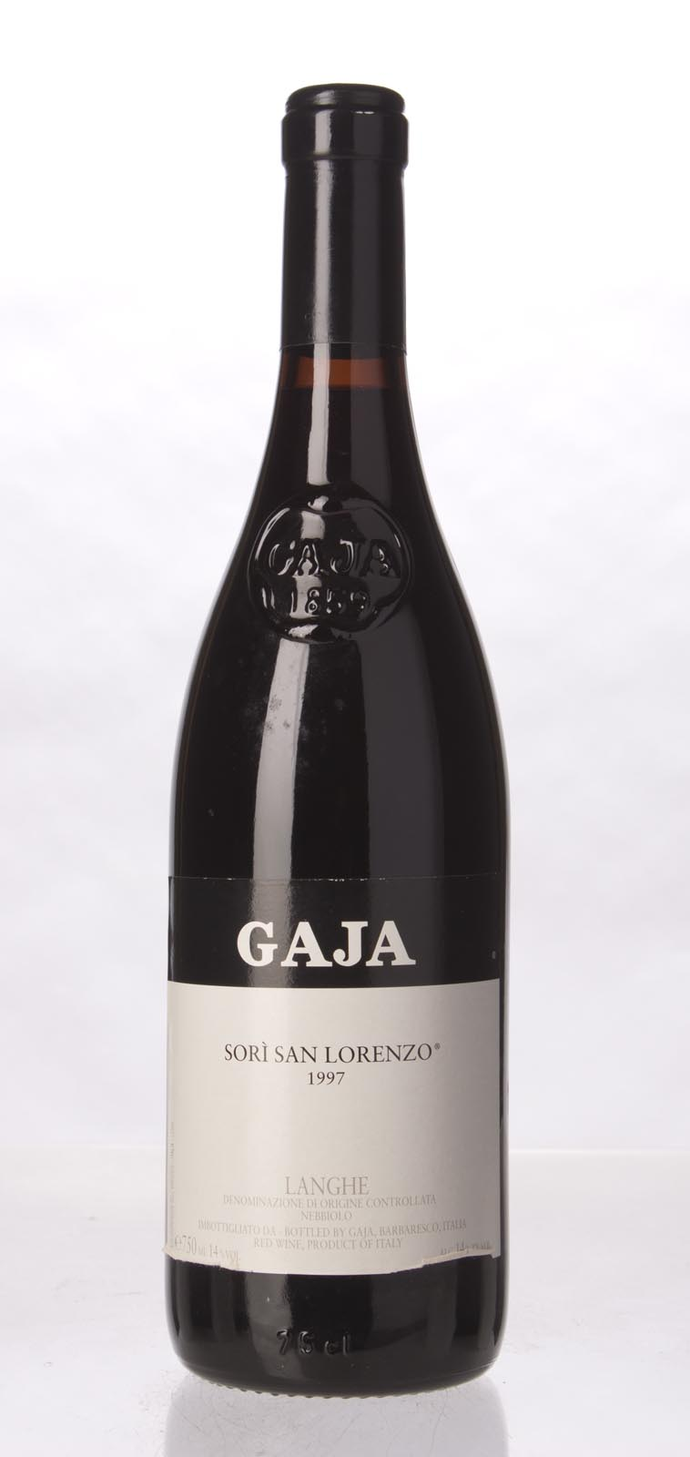 Gaja Sori San Lorenzo 1997, 750mL (WA98, WS98) from The BPW - Merchants of rare and fine wines.
