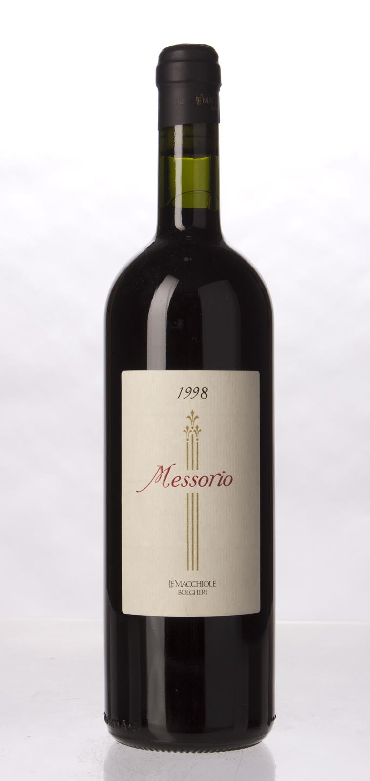 Le Macchiole Messorio 1998, 750mL (WA96, WS94) from The BPW - Merchants of rare and fine wines.