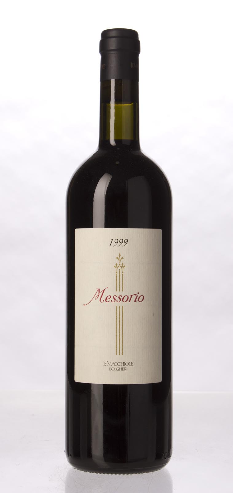 Le Macchiole Messorio 1999, 750mL (WA98) from The BPW - Merchants of rare and fine wines.