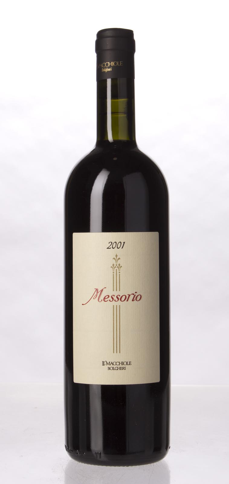 Le Macchiole Messorio 2001, 750mL (WA97) from The BPW - Merchants of rare and fine wines.