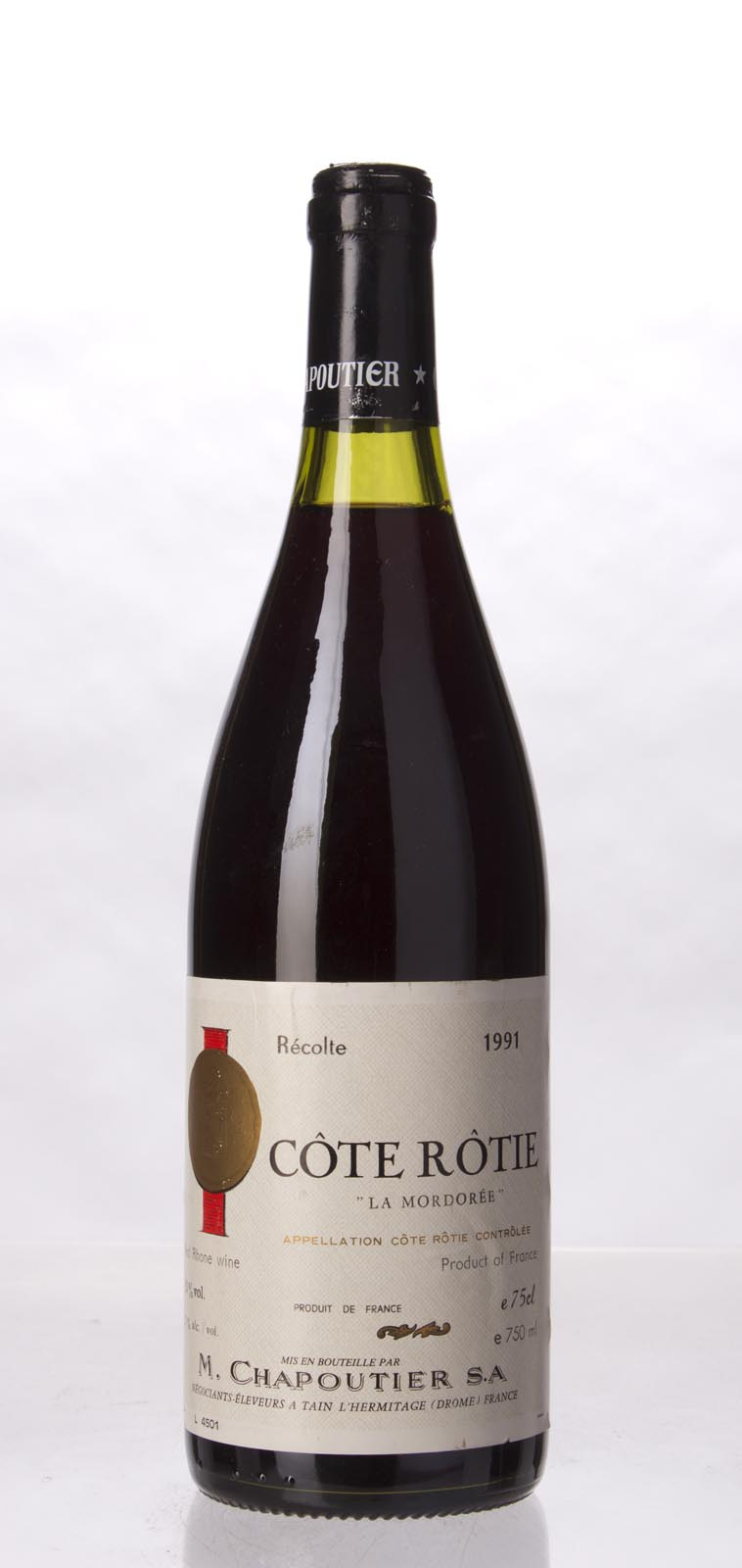 Chapoutier Cote Rotie la Mordoree 1991, 750mL (WA100) from The BPW - Merchants of rare and fine wines.