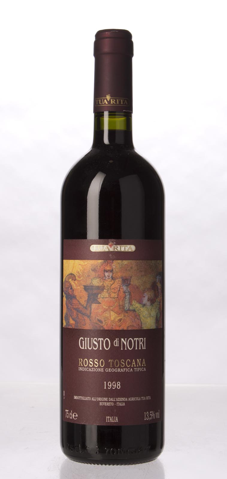 Tua Rita Giusto di Notri 1998, 750mL (WA93) from The BPW - Merchants of rare and fine wines.