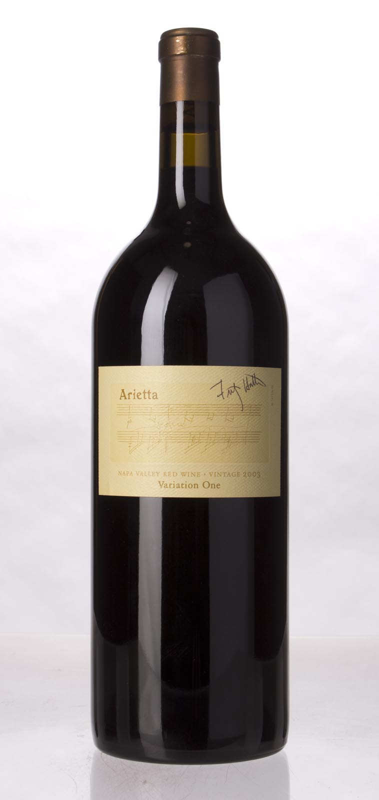 Arietta Variation One 2003, 1.5L (ST95) from The BPW - Merchants of rare and fine wines.