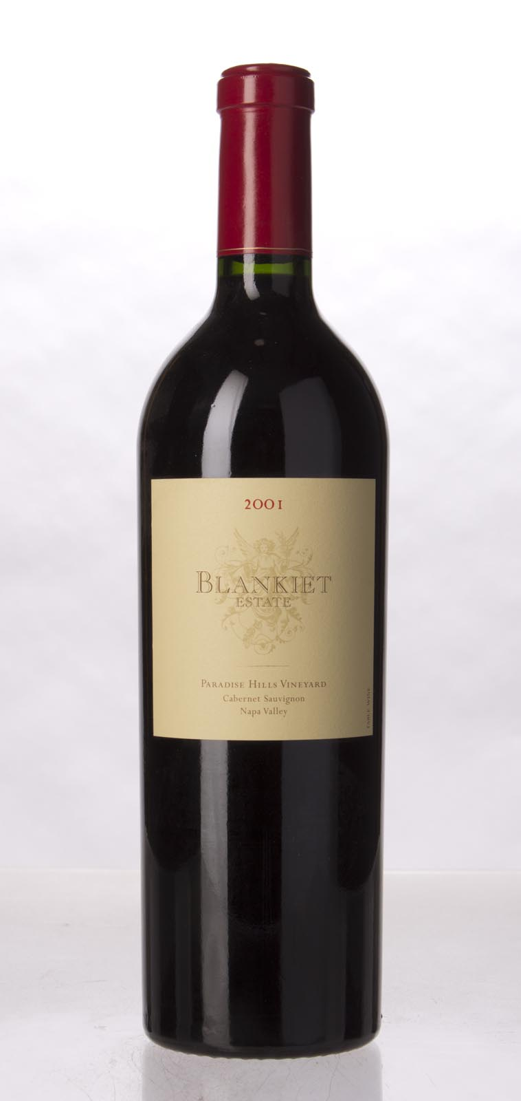 Blankiet Cabernet Sauvignon Paradise Hills Vineyard 2001, 750mL (WA95, ST93) from The BPW - Merchants of rare and fine wines.