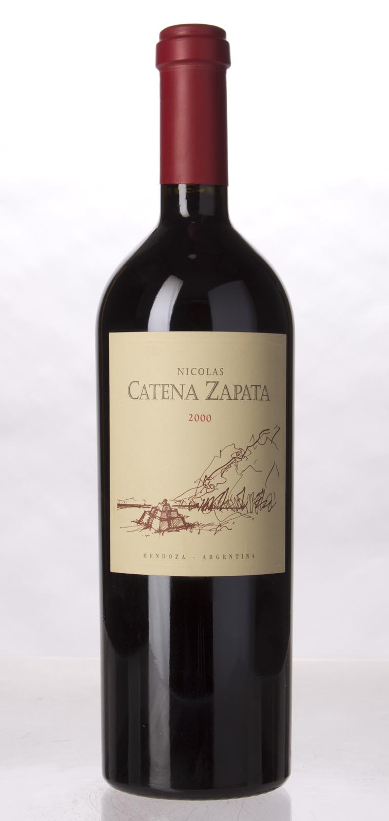 Bodegas Catena Zapata Proprietary Red Nicolas Catena Zapata 2000, 750mL (ST90) from The BPW - Merchants of rare and fine wines.