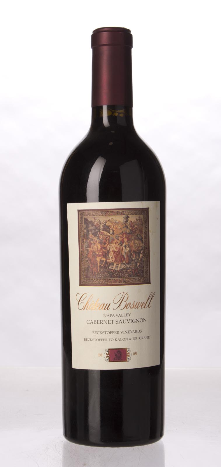 Chateau Boswell Cabernet Sauvignon Beckstoffer Dr. Crane Vineyard 2005, 750mL () from The BPW - Merchants of rare and fine wines.
