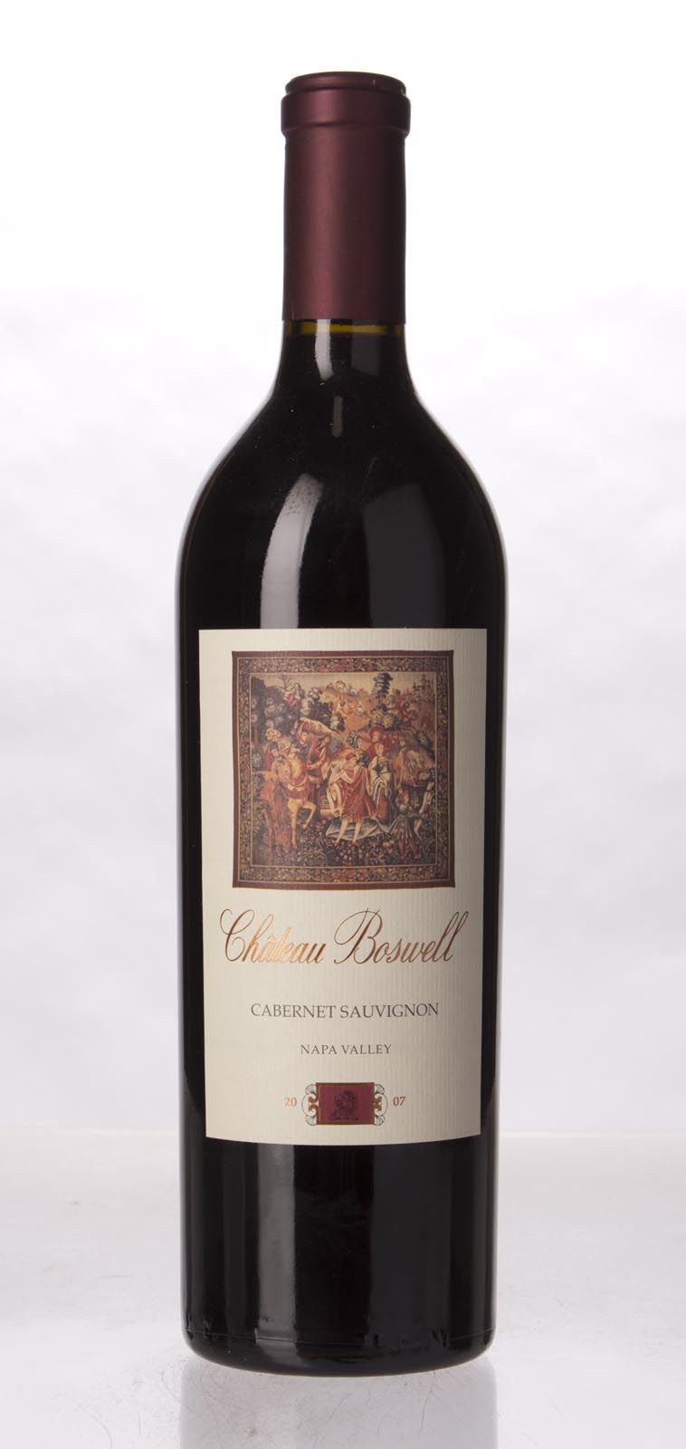 Chateau Boswell Cabernet Sauvignon Napa Valley 2007, 750mL () from The BPW - Merchants of rare and fine wines.