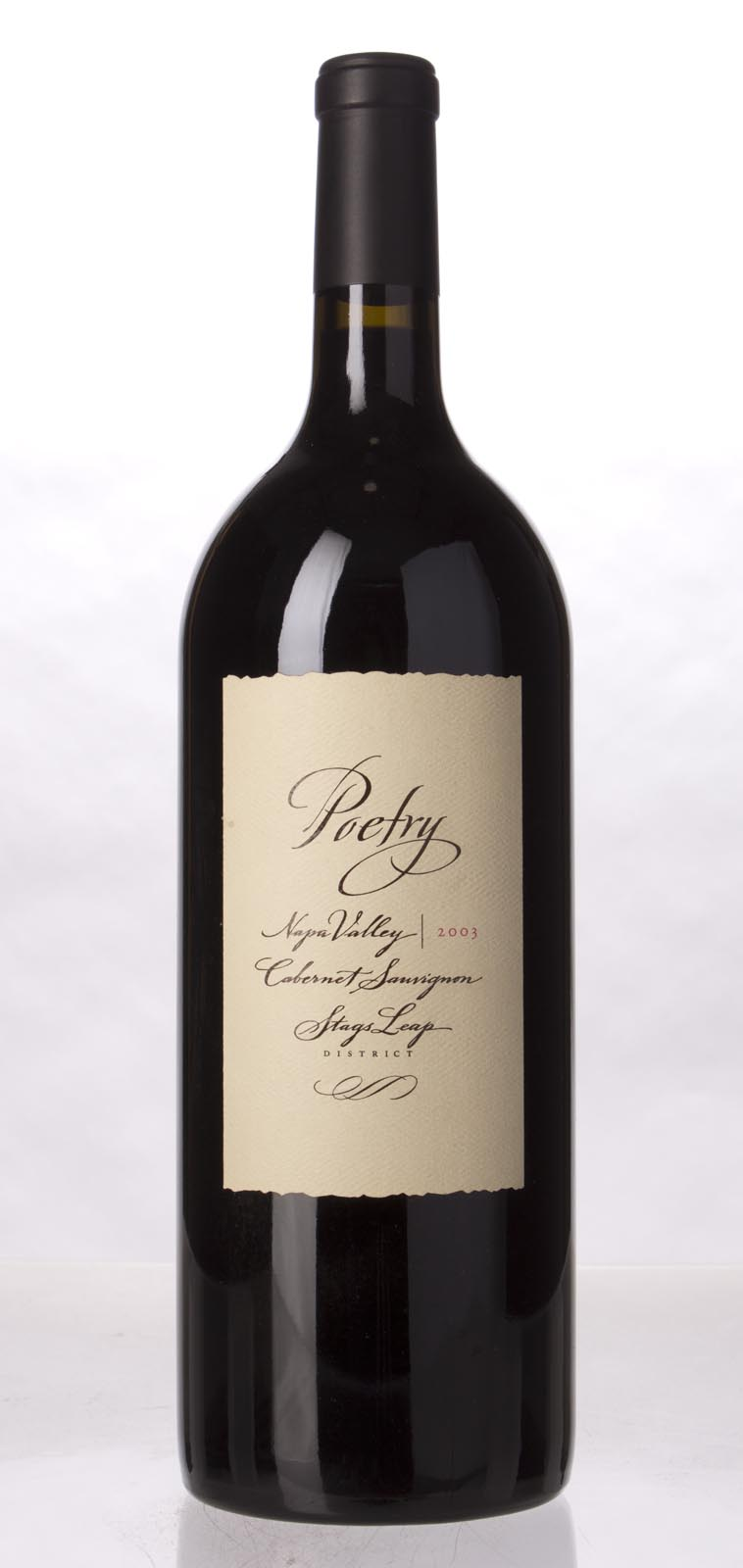 Cliff Lede Cabernet Sauvignon Poetry 2003, 1.5L (WA95) from The BPW - Merchants of rare and fine wines.