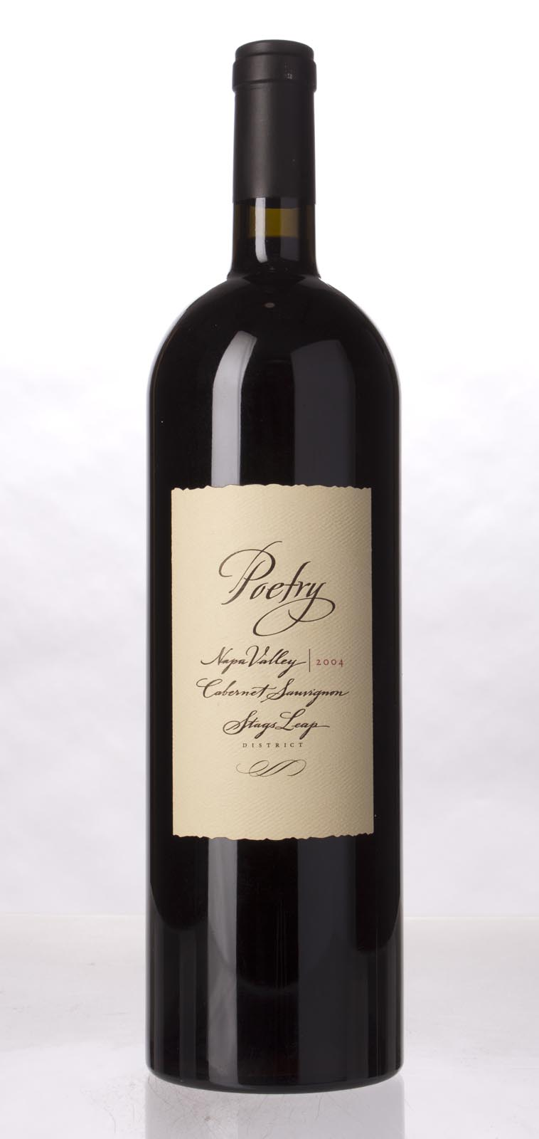 Cliff Lede Cabernet Sauvignon Poetry 2004, 1.5L (WS94) from The BPW - Merchants of rare and fine wines.