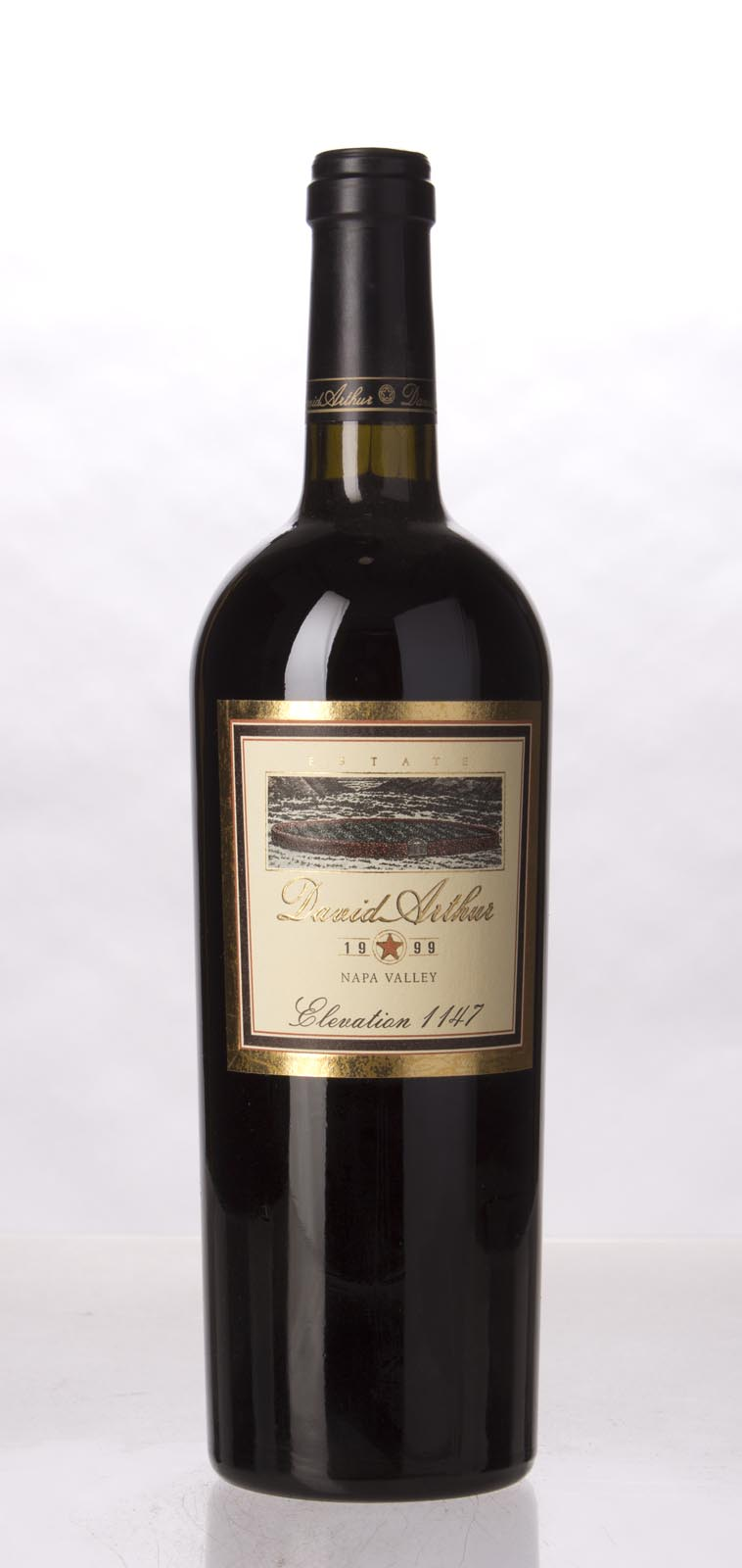 David Arthur Cabernet Sauvignon Elevation 1147 1999, 750mL (WS95) from The BPW - Merchants of rare and fine wines.