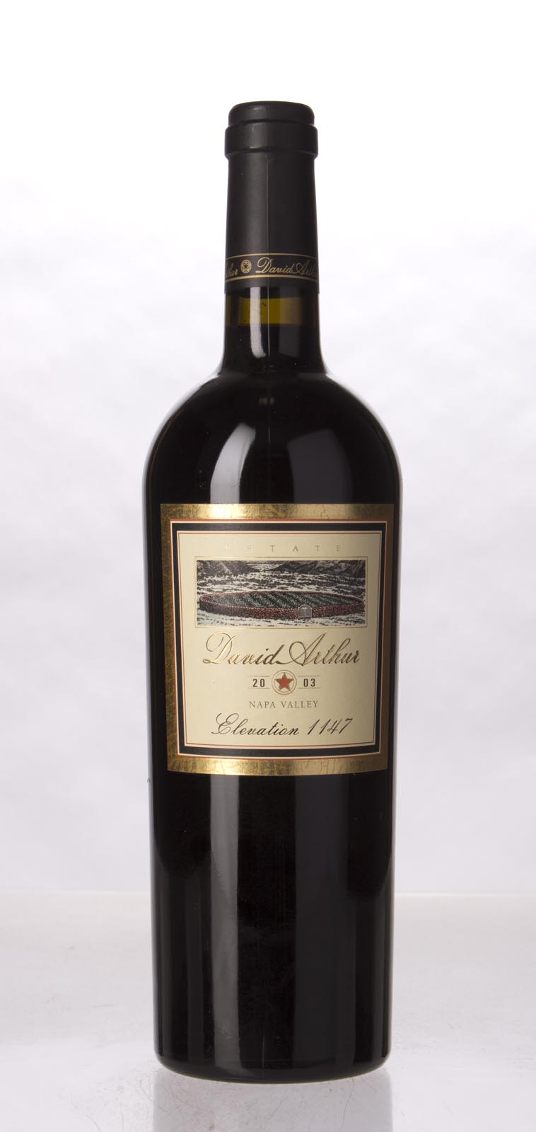 David Arthur Cabernet Sauvignon Elevation 1147 2003, 750mL () from The BPW - Merchants of rare and fine wines.