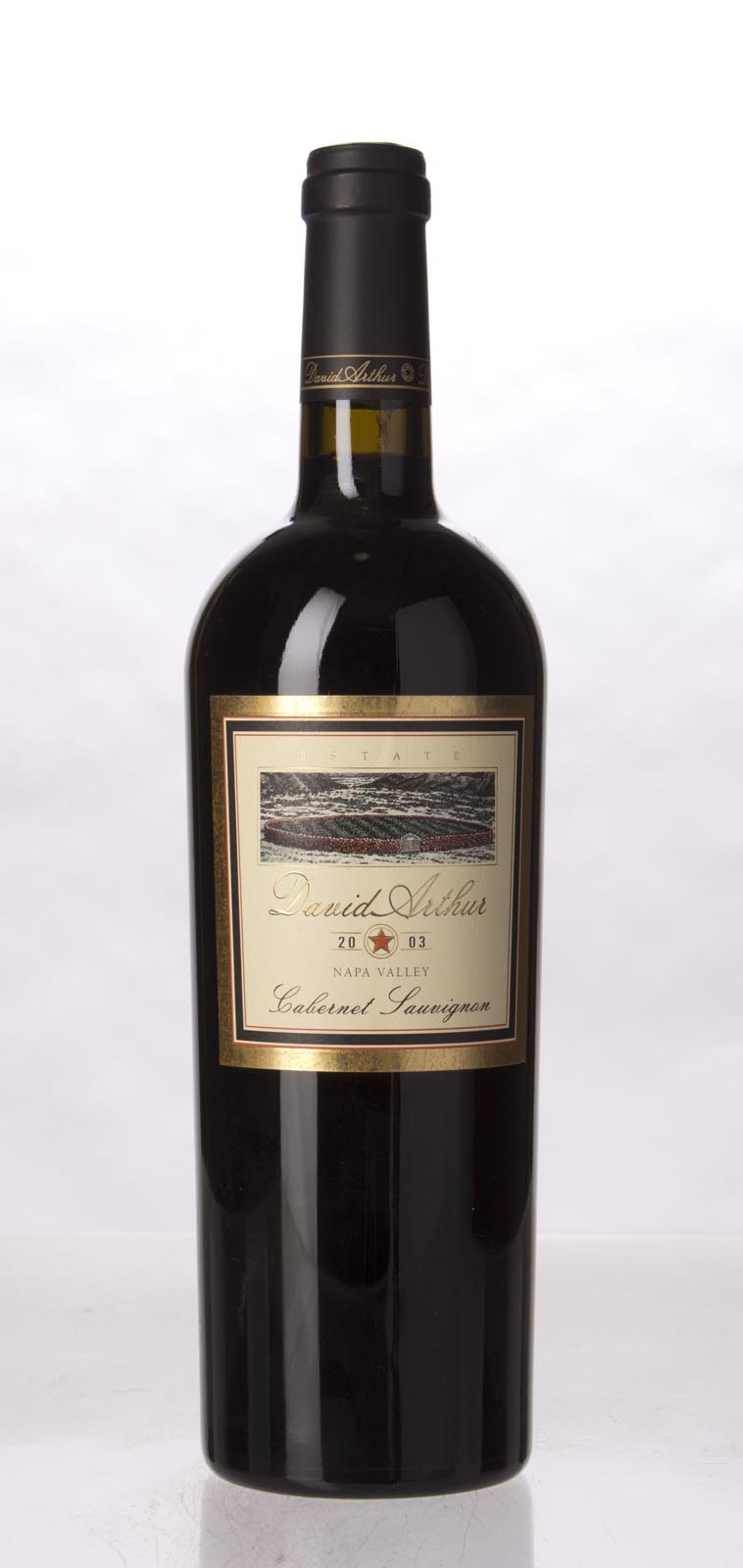 David Arthur Cabernet Sauvignon Napa Valley 2003, 750mL () from The BPW - Merchants of rare and fine wines.