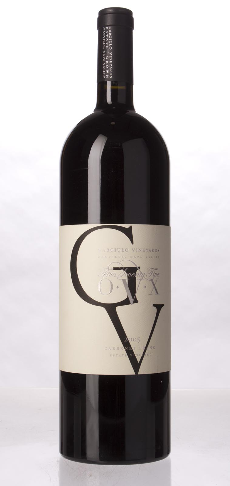 Gargiulo Vineyards Cabernet Sauvignon 575 OVX 2005, 1.5L () from The BPW - Merchants of rare and fine wines.