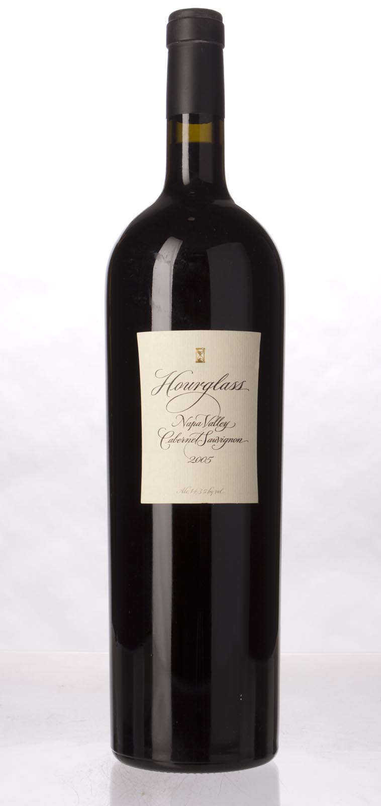 Hourglass Cabernet Sauvignon Napa Valley 2005, 1.5L (WA93) from The BPW - Merchants of rare and fine wines.
