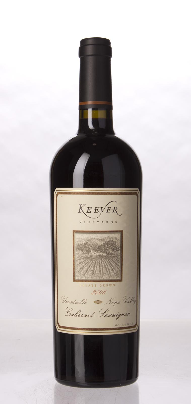 Keever Cabernet Sauvignon Yountville 2005, 750mL () from The BPW - Merchants of rare and fine wines.
