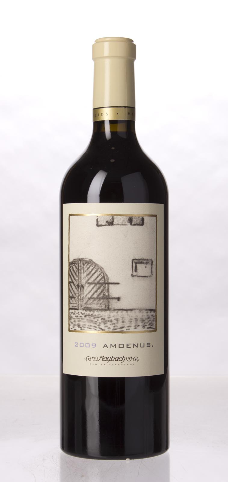 Maybach Family Vineyards Cabernet Sauvignon Amoenus 2009, 750mL (WA91, ST92, WS91) from The BPW - Merchants of rare and fine wines.