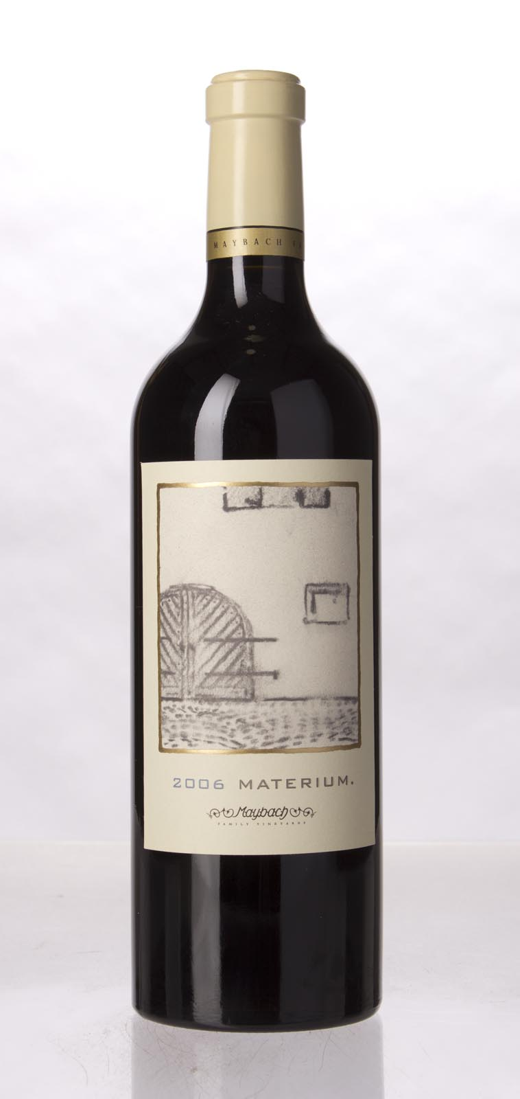 Maybach Family Vineyards Cabernet Sauvignon Materium 2006, 750mL (WA95, WS96) from The BPW - Merchants of rare and fine wines.