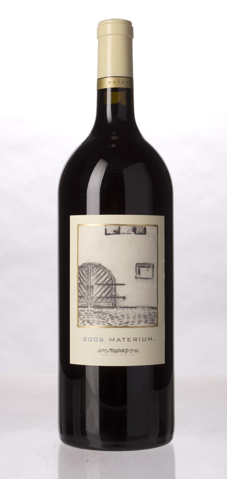 Maybach Family Vineyards Cabernet Sauvignon Materium 2006, 1.5L (WA95, WS96) from The BPW - Merchants of rare and fine wines.